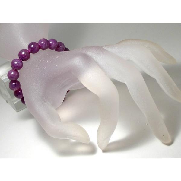 ルビー ブレスレット 10mm パワーストーン ブレスレット レディース 天然石 数珠