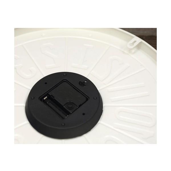 掛時計 掛け時計 大きい ビッグサイズ  アンティーク アメリカ雑貨 ビンテージクロック オールドアメリカン インテリア /ナンバープレートクロック|sakae-daikyo|06