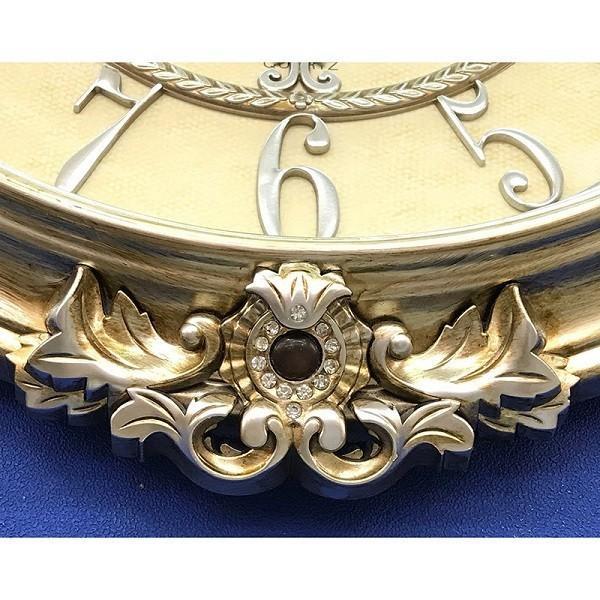 掛時計 壁掛け時計 アンティーク ヨーロッパ調 レトロ おしゃれ 高級  ローマ ビクトリアンパレス / ウォールクロック コロッセオ|sakae-daikyo|04