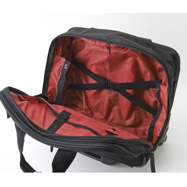 ビジネス キャリーバッグ 機内持ち込み メンズ 横 2輪 1泊 キャスター交換 静か S ビジネスキャリーバッグ ビジネスバッグ 出張 通勤 営業 外回り NEOPRO RED|sakaeshop|11