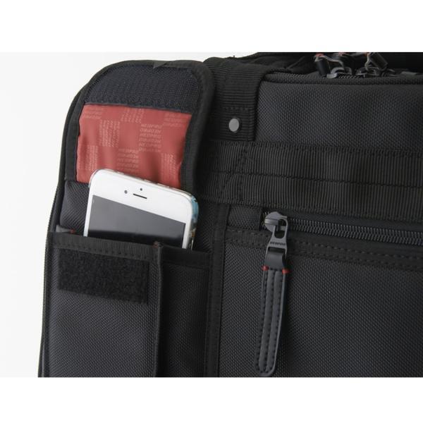 ビジネス キャリーバッグ 機内持ち込み メンズ 横 2輪 1泊 キャスター交換 静か S ビジネスキャリーバッグ ビジネスバッグ 出張 通勤 営業 外回り NEOPRO RED|sakaeshop|12