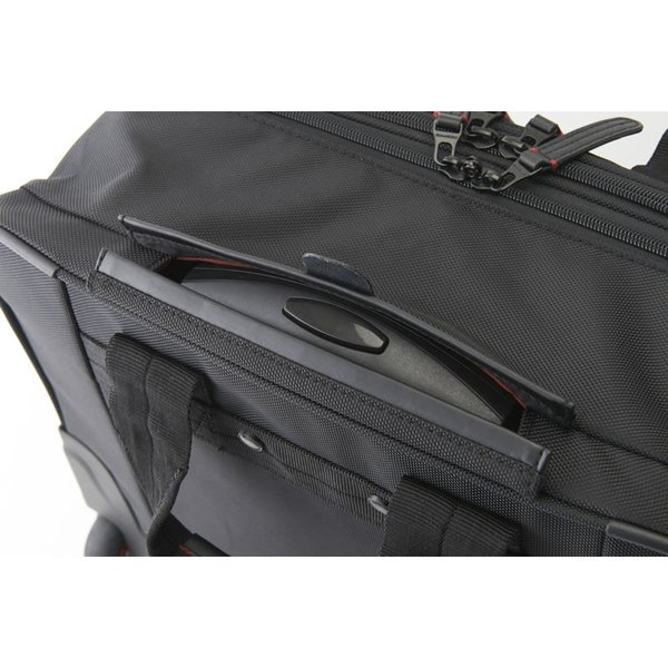 ビジネス キャリーバッグ 機内持ち込み メンズ 横 2輪 1泊 キャスター交換 静か S ビジネスキャリーバッグ ビジネスバッグ 出張 通勤 営業 外回り NEOPRO RED|sakaeshop|15
