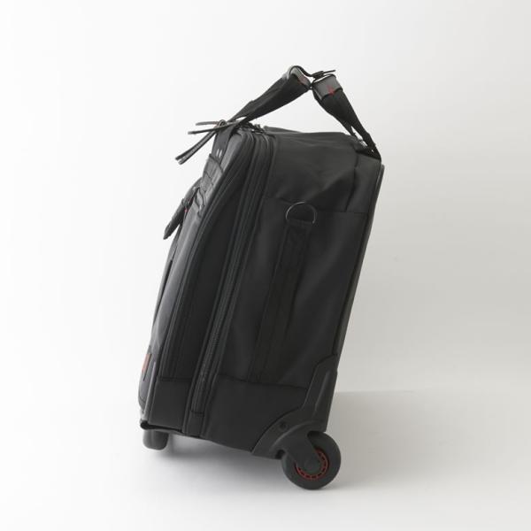 ビジネス キャリーバッグ 機内持ち込み メンズ 横 2輪 1泊 キャスター交換 静か S ビジネスキャリーバッグ ビジネスバッグ 出張 通勤 営業 外回り NEOPRO RED|sakaeshop|05
