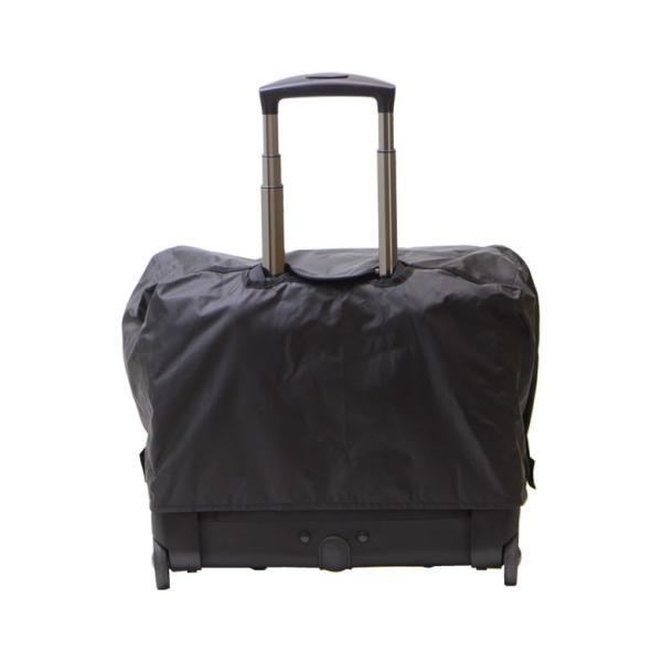 ビジネスバッグ メンズ レディース レインカバー バッグ かぶせるだけ 機内持込み キャリーバッグ 横型 雨 キャッシュレス ポイント還元 (ネコポス対応)|sakaeshop|10