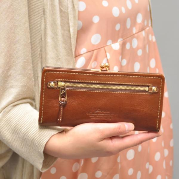 Dakota ダコタ 財布 レディース 長財布 がま口 モデルノ キャッシュレス ポイント還元|sakaeshop|02