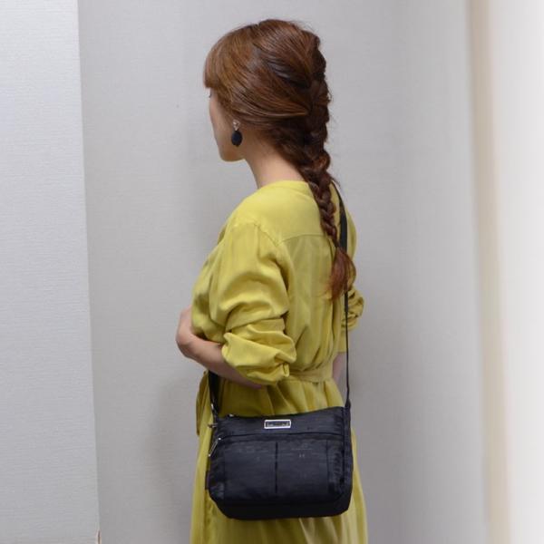 ショルダーバッグ レディース 斜めがけ ブランド 30代 40代 女性 a5 HIROKO KOSHINO SPORTS ヒロココシノスポーツ 贈り物 買い物|sakaeshop|06