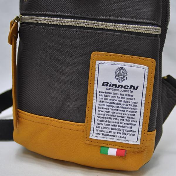 Bianchi ビアンキ ボディバッグ NBTCシリーズ メンズ レディース 男女兼用 ワンショルダー 斜めがけ 撥水 軽量 スマホ 貴重品 人気 ブランド|sakaeshop|08