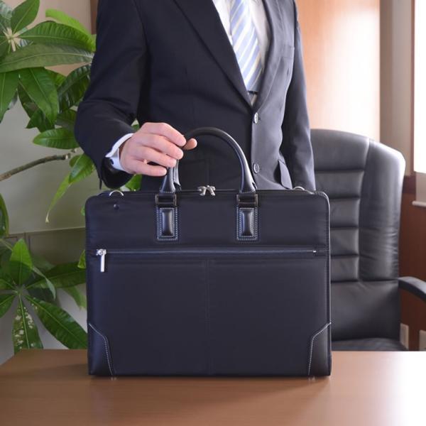 ビジネスバッグ メンズ 就活 メンズバッグ 就活カバン リクルートバッグ ビジネス 通勤 A4ファイル 就活バッグ 国産 日本製 Fiorire メンズ|sakaeshop|02