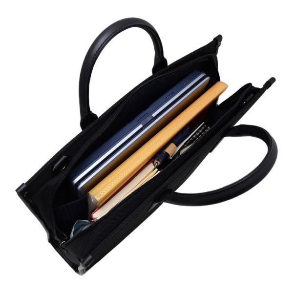 ビジネスバッグ 軽量 メンズ 肩 かけ リクルートバッグ 就活 営業 面接 SAXON キャッシュレス ポイント還元|sakaeshop|05