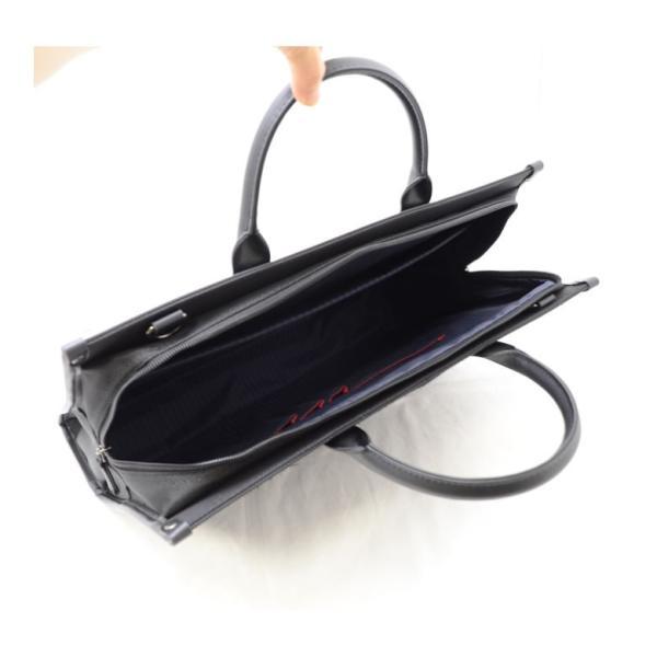 ビジネスバッグ 軽量 メンズ 肩 かけ リクルートバッグ 就活 営業 面接 SAXON キャッシュレス ポイント還元|sakaeshop|06