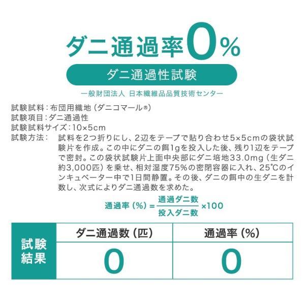 防ダニ カバー 掛布団カバー ダニコマール(R) 防ダニ 掛け布団カバー シングルサイズ 防ダニ  花粉対策|sakai-f|05