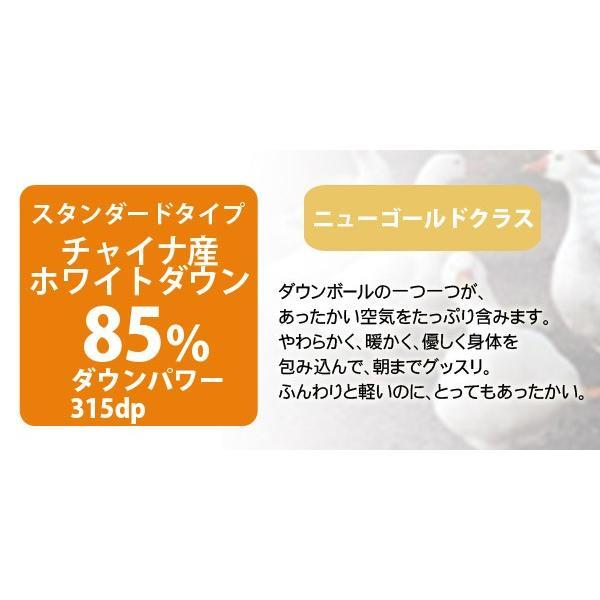 羽毛リフォーム 仕立て替えのみ シングル TTC生地/ホワイトダウン85%|sakai-f|05