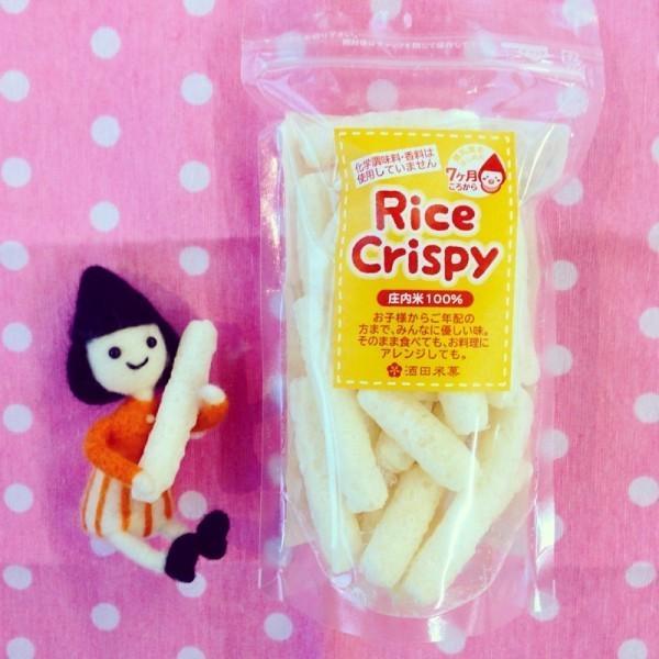 無添加 赤ちゃん せんべい Rice crispy|sakatabeika|03