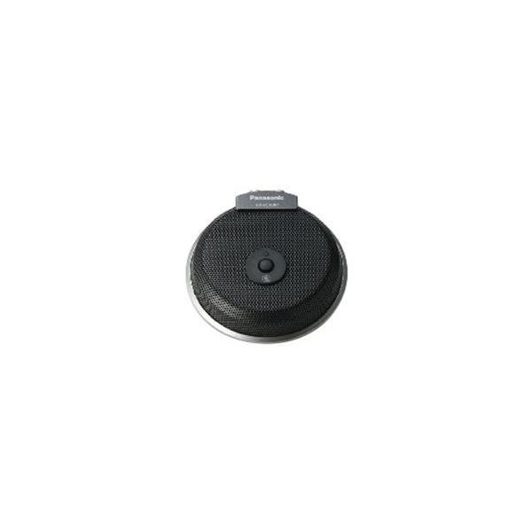 Panasonic 〔HD映像コミュニケーションユニット〕 バウンダリーマイクロホン KX-VCA001 ブラックの画像