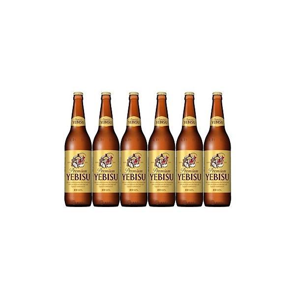 サッポロビール エビス 大瓶 633ml ビール6本セット