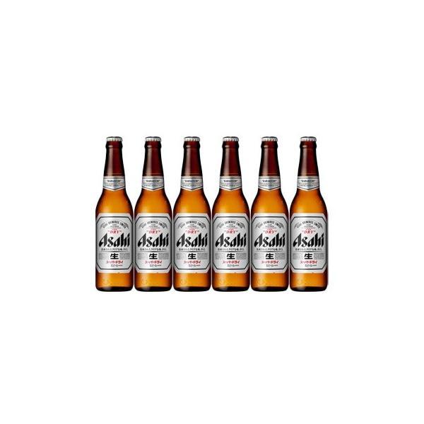 アサヒビール スーパードライ 小瓶 334ml ビール6本セット|sakaz