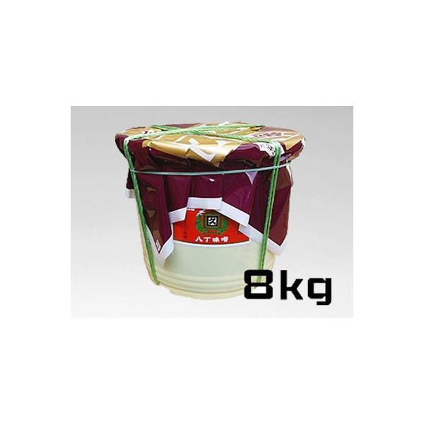 合資会社八丁味噌 角久 カクキュウ 赤だし味噌  漉 8kgポリ樽