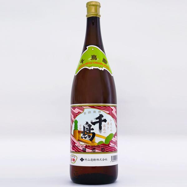 村山造酢 京酢 加茂千鳥酢 1.8L瓶 米酢