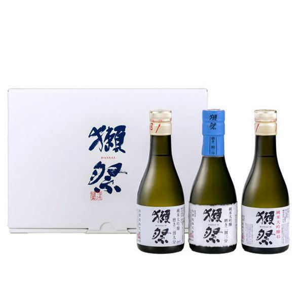 ギフト日本酒獺祭だっさい純米大吟醸お試し3本セット180ml×3本箱入りおひとり様6セット