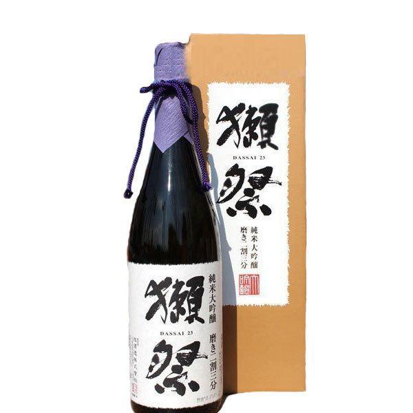 日本酒獺祭だっさい純米大吟醸磨き二割三分1800mlデラックスカートン入りおひとり様6本