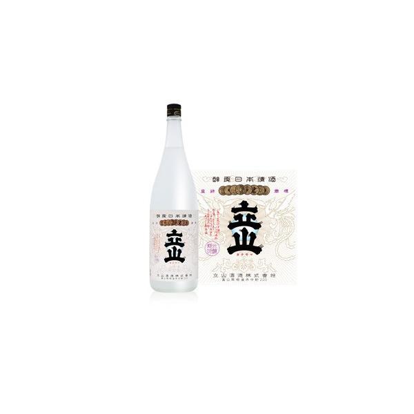 立山 兵庫県山田錦 純米吟醸 1800ml 化粧箱入り
