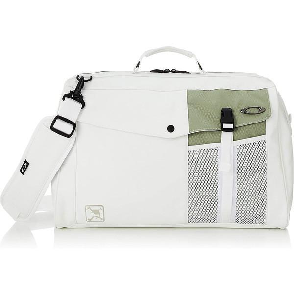 日本正規品 OAKLEY(オークリー) スカル ボストンバッグ 15.0 2021年モデル FOS900652 ホワイト/グリーン 180