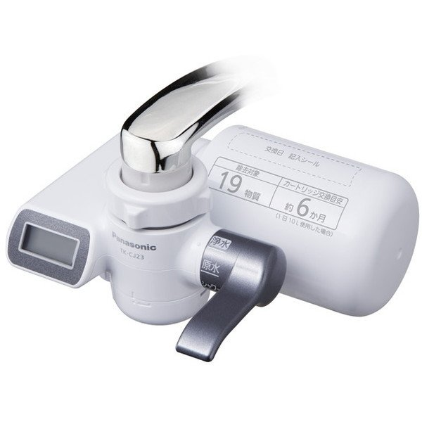 PANASONICTK-CJ23メタリックグレー蛇口直結型浄水器