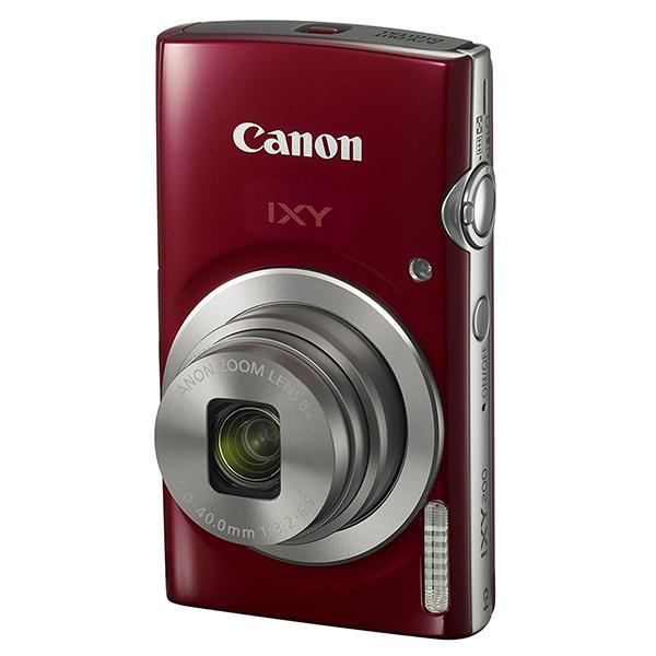 CANON IXY 200 レッド コンパクトデジタルカメラ(2000万画素)