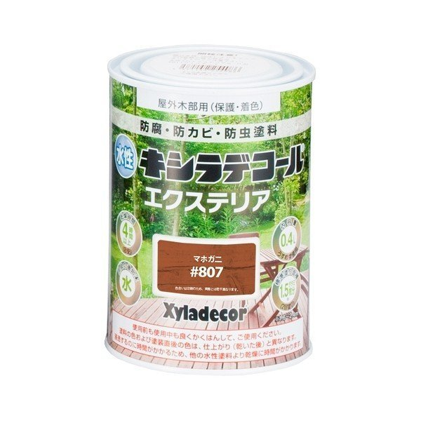 カンペハピオ 水性キシラデコール エクステリアS マホガ二 0.4L