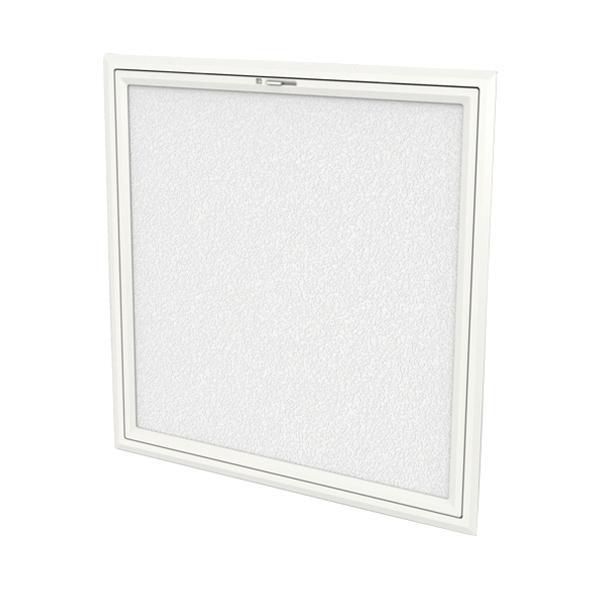 サヌキ 壁用点検口 200角 オフホワイト色 MDF付 WH-200MD 0306-02256