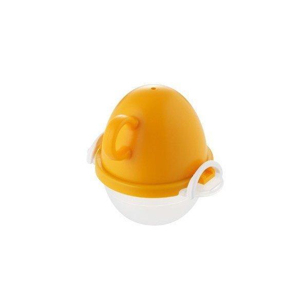 曙産業 EZ-283 オレンジ ezegg レンジでゆでたまご1個用 電子レンジ調理器具