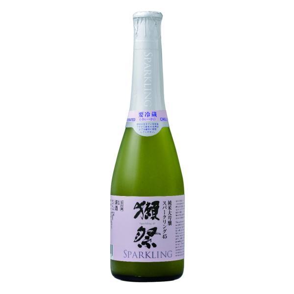 【クール配送】【正規特約店】 獺祭 スパークリング 45 360ml|sake-ueda
