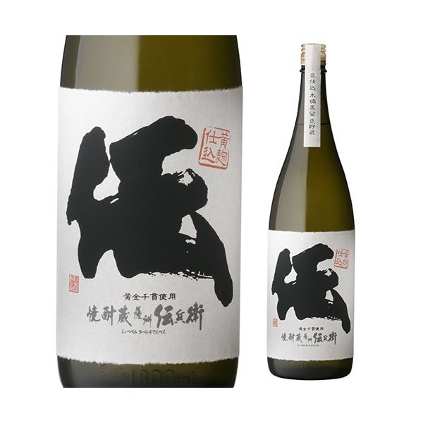 薩洲濱田屋伝兵衛  伝 いも焼酎 25度1800ml|sakeichi