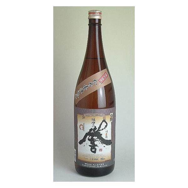 薩摩の誉 (白麹 カメ壷仕込み) 芋焼酎25度1800ml|sakeichi
