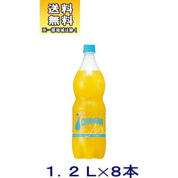 [飲料]送料無料※サントリー オランジーナ 1.2LPET 1ケース8本入り SUNTORY(1200ml オレンジ 炭酸)