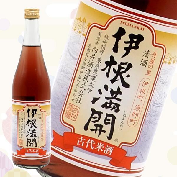京の春 伊根満開 古代米酒/720ml