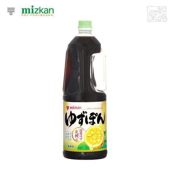 ミツカン ゆずぽん プラボトル 1800ml 6本セット ミツカン ポン酢