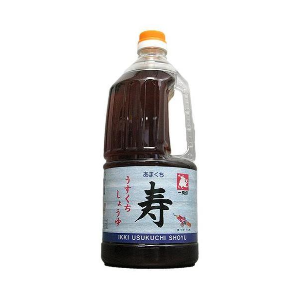 熊本県 緑屋本店 【九州醤油】 一騎印うすくち (あまくち) 寿1.5L