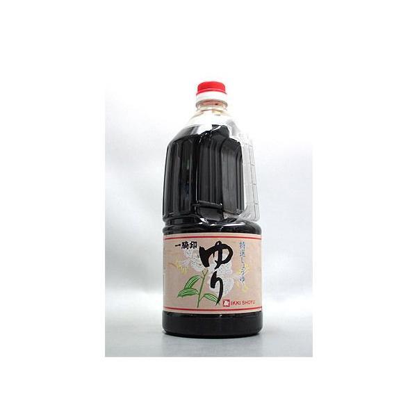 一騎印 ゆり醤油 こいくち 【九州醤油】  緑屋本店 熊本県 1500ml