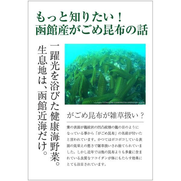(メール便)がごめ刻み昆布(細切り) (30g×2) / 無添加 細切り昆布|sakenosakana|04