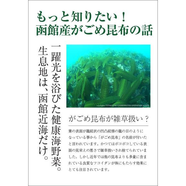 (メール便) がごめとろろ昆布(根昆布入) (100g×2袋) / 北海道産 がごめ昆布 送料無料 sakenosakana 03