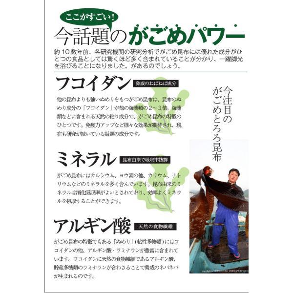 (メール便) がごめとろろ昆布(根昆布入) (100g×2袋) / 北海道産 がごめ昆布 送料無料 sakenosakana 04
