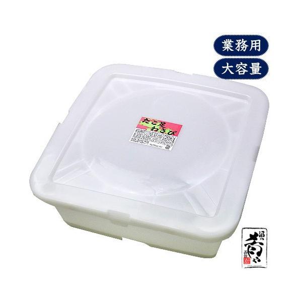 布目 たこ足わさび(2kg/保存容器付き)/ たこわさ 北海道 函館 珍味 業務用 送料無料|sakenosakana|02