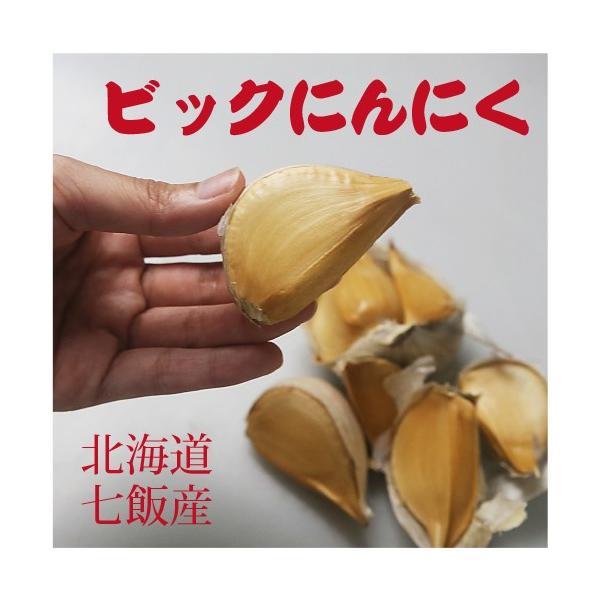 北海道七飯産 無臭ビックにんにく(約200g)/メール便送料無料|sakenosakana|03