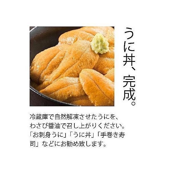 刺身用生冷うに400g(100gx4)|sakenosakana|05