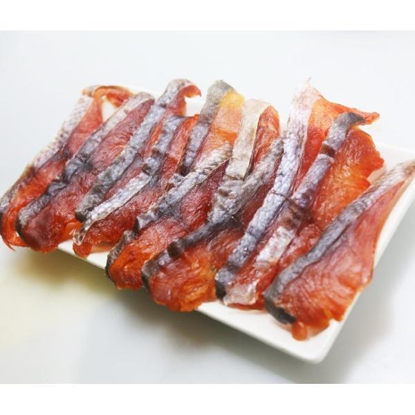 鮭とば スライスタイプ 110g×5袋 送料無料|sakenosakana|04