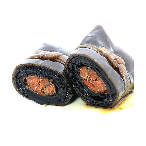 紅さけ巻(1本) 紅鮭 昆布巻き 惣菜 おかず 北海道 肉厚|sakenosakana|02