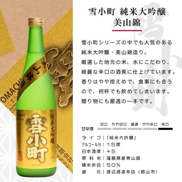 日本酒 おつまみ プレゼント ギフト 包装・のし対応無料 厳選日本酒 純米大吟醸・大吟醸 720ml2本×厳選おつまみ2個 ふくしまプライド sakenosakuraya 04