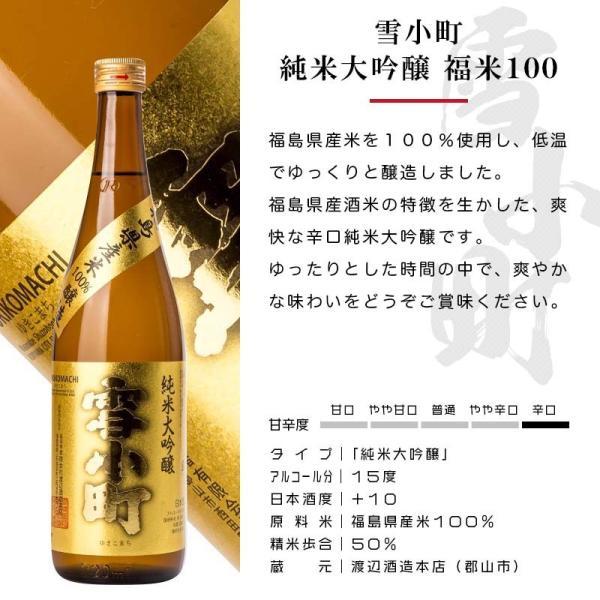 日本酒 おつまみ プレゼント ギフト 包装・のし対応無料 厳選日本酒 純米大吟醸・大吟醸 720ml2本×厳選おつまみ2個 ふくしまプライド sakenosakuraya 05