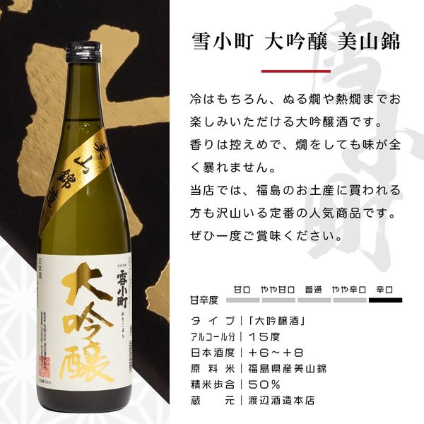 日本酒 おつまみ プレゼント ギフト 包装・のし対応無料 厳選日本酒 大吟醸 720ml×厳選おつまみ2個 ふくしまプライド。体感キャンペーン(お酒/飲料)|sakenosakuraya|04